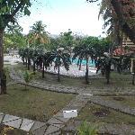 Espace piscine de notre chambre au 25 mars 2012.