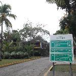 Aire des bungalows au 25 mars 2012.