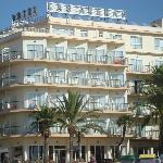The hotel, view from the beach