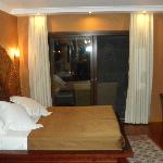 Bedroom part of executive suite