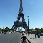 Cycling to the Eiffel Tower