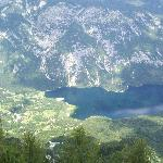 Bohinj Lake from the top