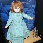 rare talking doll with edison player built in
