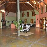 Olasiti Lodge lobby