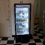 breakfast room refrigerator