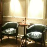 Armchairs in Charles Rowley (Superior Double, second floor)