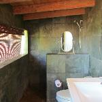 Bathroom that goes with Yoga Studio room