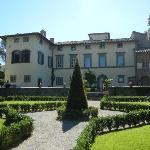 Front of Villa Piazzano