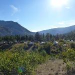 View looking over Kumsheen Resort