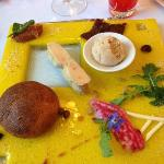 L'entrée à base de foie gras