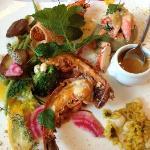 Le plat à base de homard