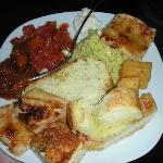 Assaggi dal buffet
