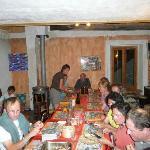 Les repas du soir - Toujours très conviviale