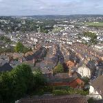 view from Family room over Newton Abbot