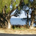 View from a beach villa.
