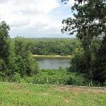 Overlook of Appalachacola River behind the Gregory House