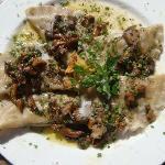 mushroom ravioly