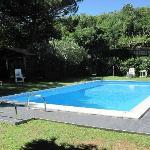 Giardino e piscina B&B Così come a casa