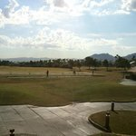 View of the Driving Range from the Grill patio