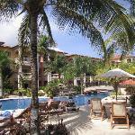 pool/lounging area