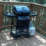 the grill (propane)