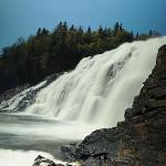 High Falls in Wawa ON