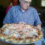 Thai Pizza at Zion Pizza & Noodle