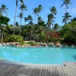 Malolo Island Resort poolside