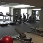 Great fitness centre.