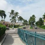 roads along hotel