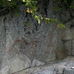 Native rock paintings