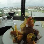 Déjeuner avec vue panoramique