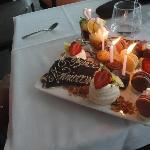 petit dessert personnalisé