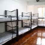8 bed mixed dorm (fan)