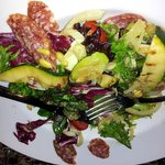 grilled fennel salad with sausage