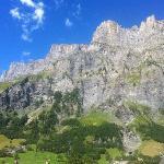 Berge Blick nach rechts