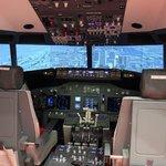 Cockpit B737