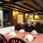 Inside the Sugar Cane restaurant