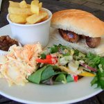 Sausage in a roll £7.50