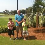 Pop Pop golfing with his buddies!