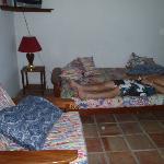 Rm 11 Opting to sleep on the futon