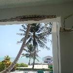 Rm 2 The walls crumbling outside room 2
