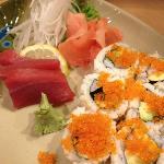 sashimi and maki