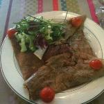 Crepes salata