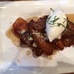 bananas foster French toast at hopper creek kitchen