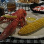 Lobster dinner 13,95$
