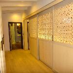 Corridor to the bathroom