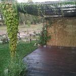 tettoia del giardino