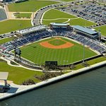 Pensacola Blue Wahoos ballpark on Escambia Bay