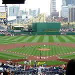 Pittsburgh from the upper deck of PNC Park